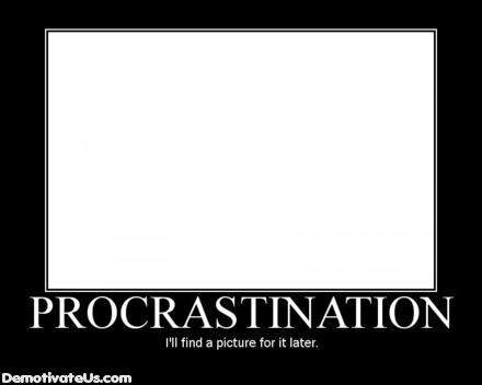 procrastination-poster
